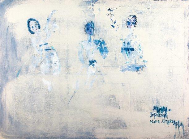 Катя (Екатерина) Медведева.. Екатерина Медведева. Музы - фреска