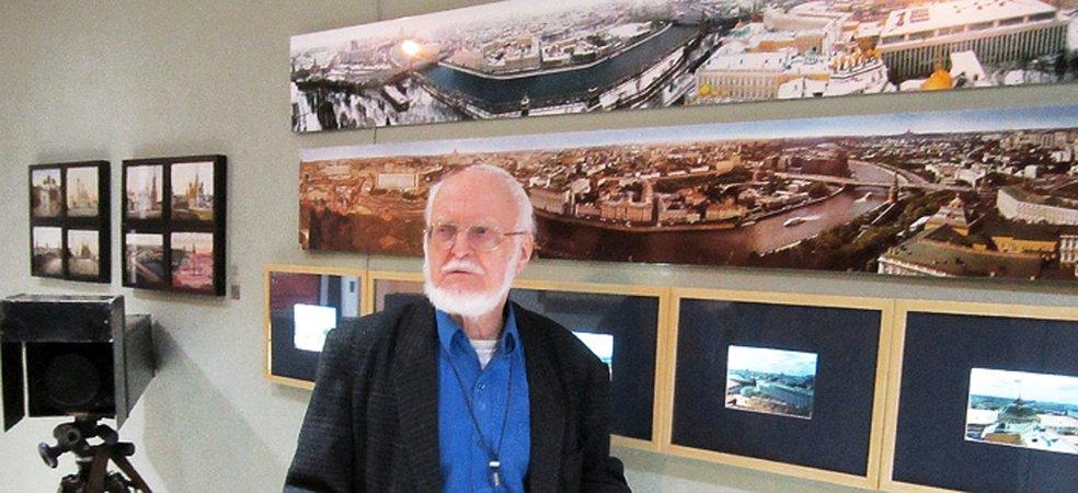 Николай Рахманов.. Панорамы Москвы 1976, 1980 гг. и слайды