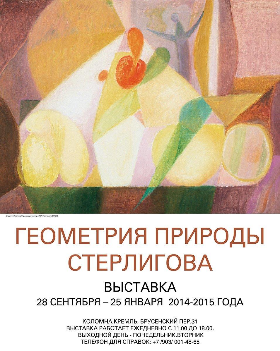 Выставка «Геометрия природы Владимира Стерлигова»