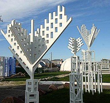 «Сад белых деревьев» Игорь Шелковский