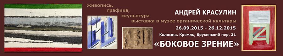 Выставка «Боковое зрение» Андрей Красулин