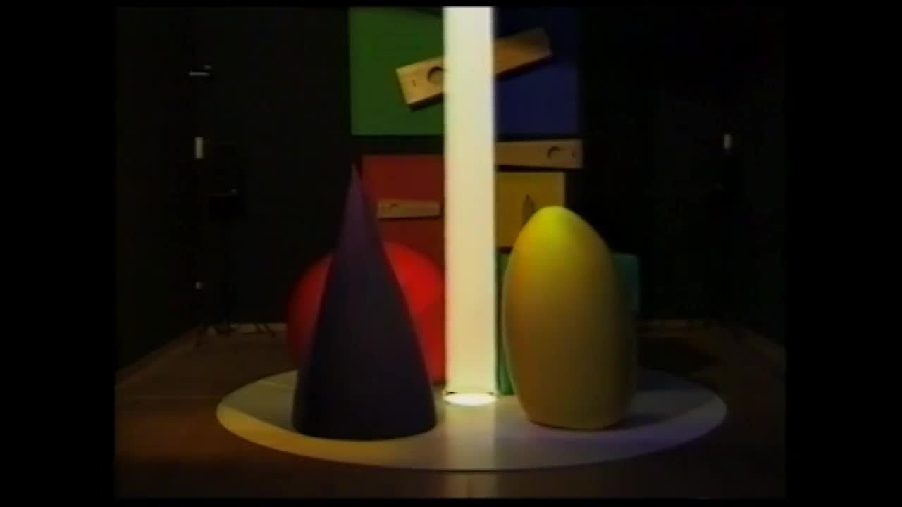 М.Матюшин. Реконструкция перфоманса «Рождение света, цвета и звука».