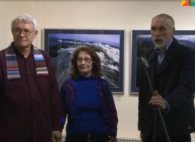 Выставка Александра  и Веры Джус