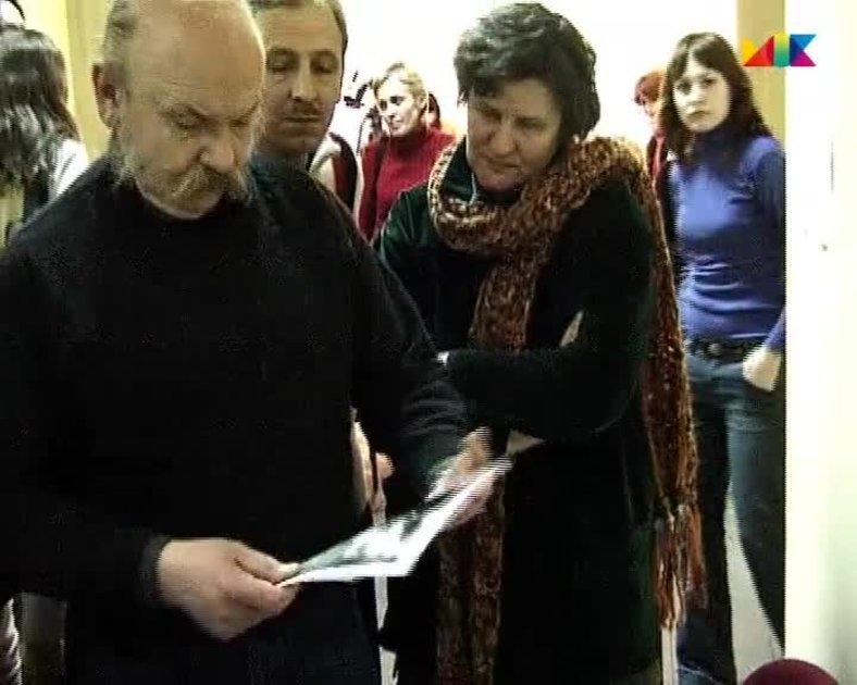Александр Слюсарев на мастер-классе