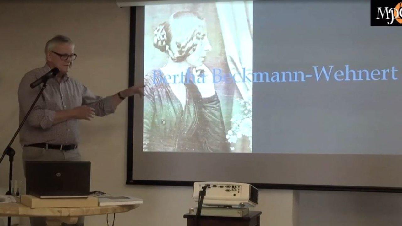 Hans Gummerbach. Presentation. «German Lady»